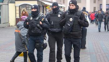 С сегодняшнего дня следить за правопорядком на центральном ж/д вокзале Киева будет спецподразделение Нацполиции ТОР