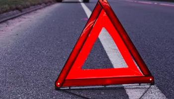 На улице Гречко в Киеве автомобиль сбил женщину на пешеходном переходе (видео)