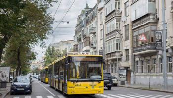 Троллейбусы одного из киевских маршрутов на выходных 18 и 19 мая изменят свое движение (схема)
