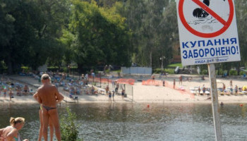 На 11 киевских пляжах нельзя купаться из-за плохого качества воды (список)