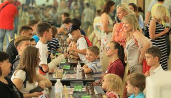 В Ирпене прошел большой шахматный турнир на кубок Киевщины