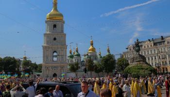 В связи с годовщиной крещения Украины-Руси в Киев привезут мощи апостола Андрея Первозванного