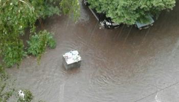 Улицы Киева затопил сильный ливень (фото, видео)