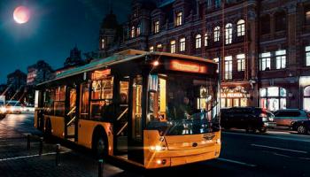 Один из киевских троллейбусов в ночь на 17 августа будет работать по измененному маршруту (схема)
