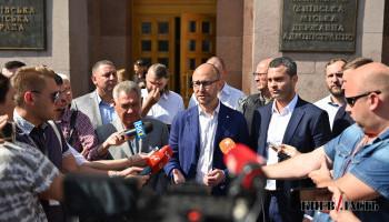 Депутаты Киевсовета Гусовский, Сагайдак и Омельченко заявили, что Кличко намерен окончательно узурпировать власть на завтрашней сессии (фото, видео)