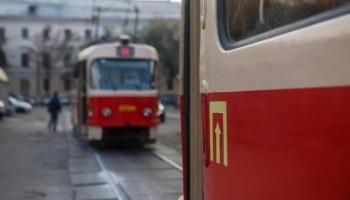 В ночь на 8 октября столичные трамваи № 14 будут работать в сокращенном режиме