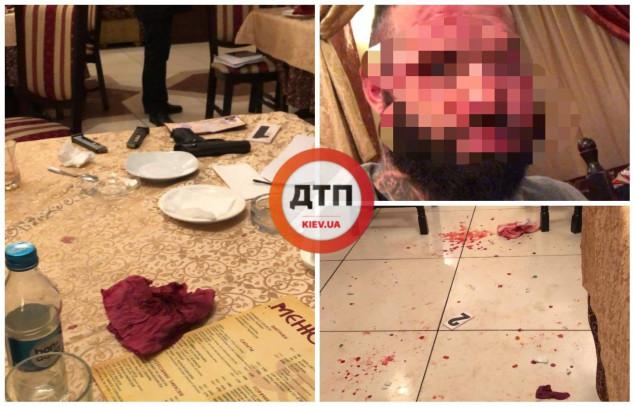 Группа мужчин восточной внешности серьёзно ранила посетителя ресторана в центре Киева