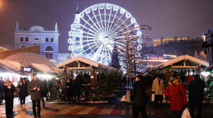 Столичная власть опубликовала программу мероприятий на зимние праздники на Подоле