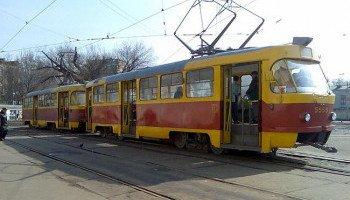До конца рабочей недели в Киеве трамваи №28 и №33К будут работать в сокращенном режиме