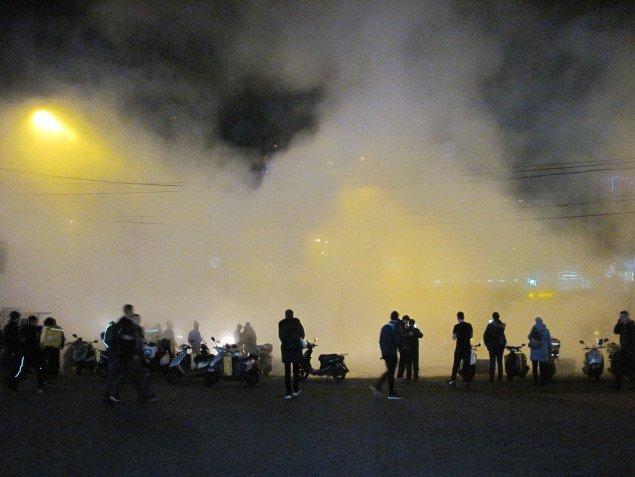 По факту прорыва теплосети на улице Антоновича полиция открыла уголовное производство