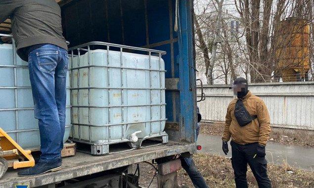 СБУ выявила в Киеве 17 тонн контрафактного алкоголя