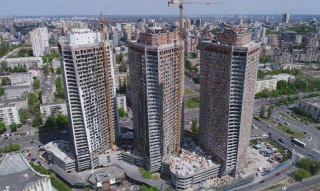 Ход работ на ЖК Manhattan City в мае