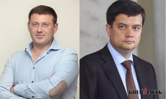 Разумкова просят не стирать с карты Киевщины Броварской район