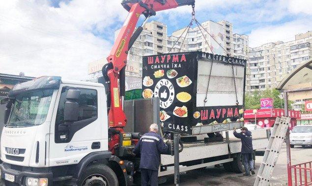 Киевские власти распорядились снести 78 МАФов (адреса)