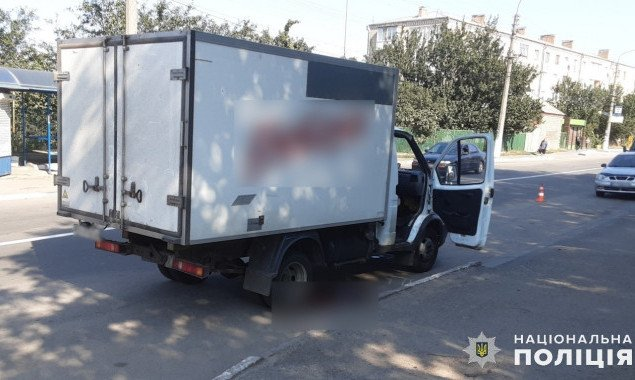 Пешеход погиб под колесами грузовика на Киевщине