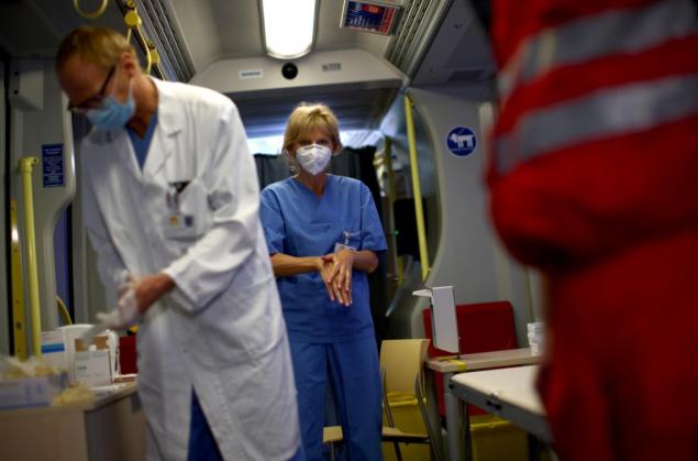 За сутки в Киеве умерли 20 больных COVID-19 (видео, инфографика)
