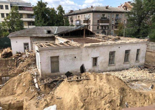 В центре Киева партнеры Негрича уничтожили историческую Усадьбу Барбана