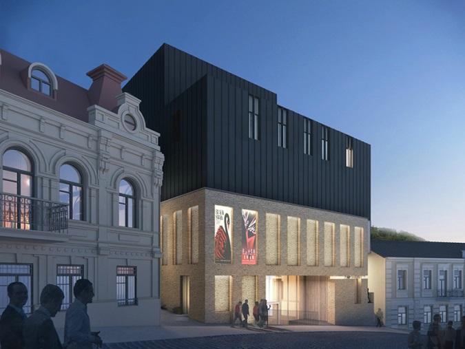 Кличко прокомментировал скандальное сооружение театра наПодоле