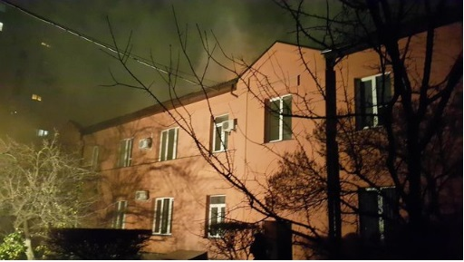 Масштабный пожар вофисе «Укргазбуда»: стали известны детали